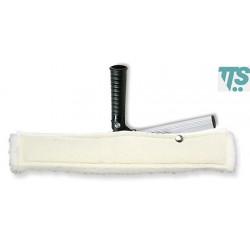 Support articulé et mouilleur blanc avec bande abrasive 35cm