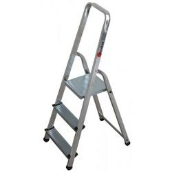 Escabeau bricoleur ménager de sécurité 3 marches H261 cm