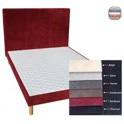 Tête de lit tissu ameublement H110 x L160 cm