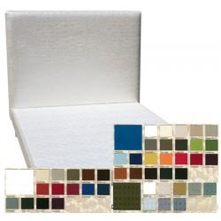 Tête de lit tissu spécifique non boutonnée H95 x L160 cm