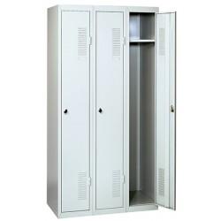 Vestiaire industrie propre à assembler 1 case suivante L30 x P50 x H181 cm