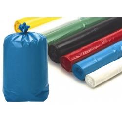 Sacs poubelle 30L rouges usage courant 12 microns (le carton de 500)