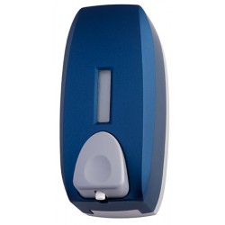 Distributeur de savon mousse ABS bleu 750ml