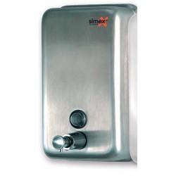 Distributeur de savon vertical 1200 ml inox brossé