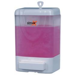 Distributeur de savon ABS transparent 1000 ml