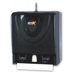 Distributeur d'essuie-mains Combi 600 feuilles ABS fumé