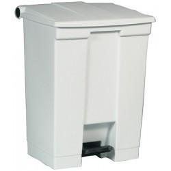 Collecteur à pédale HACCP StepOn blanc 90 L
