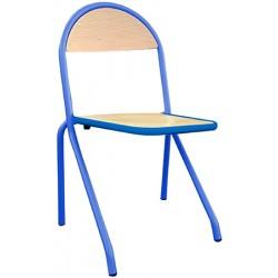 Chaise 4 pieds appui sur table Maggie hêtre teinté T4 à T7