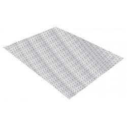 Bande d'eveil à la vigilance intérieure extérieure inox aisi 304 L81 x P62 cm