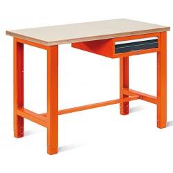 Table basse carree Hello verre clair pieds chromés 55 x 55 cm