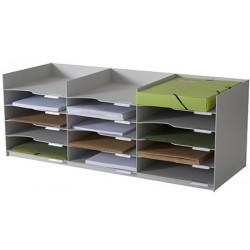 Bloc 20 cases A4 pour armoires