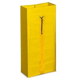 Sac jaune avec zip 120 L pour chariot Orion Porte-sacs