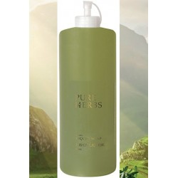 Lot de 9 recharges Pure Herbs shampooing corps et cheveux 1000 ml