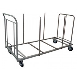 Chariot ECO pour tables polyéthylène rectangulaires 122x61 cm (15 tables)