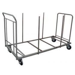 Chariot ECO pour tables polyéthylène rectangulaires 183x76 cm (15 tables)