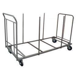 Chariot ECO pour tables polyéthylène rectangulaires 220x76 cm (15 tables)