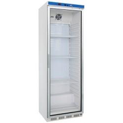 Armoire réfrigérée ventilée porte vitrée 360l