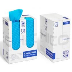 Torchons Super Twill FCC bleus 34x53cm (distributeur de 130 torchons)