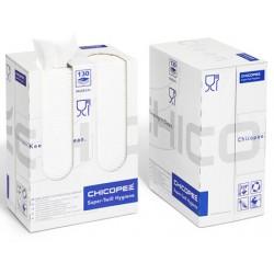 Torchons Super Twill FCC blancs 34x53cm (distributeur de 130 torchons)