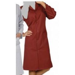 Le lot de 50 blouses longue manches longues unie couleur 190g