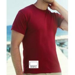 Tee-shirt col rond standard blanc 150 g