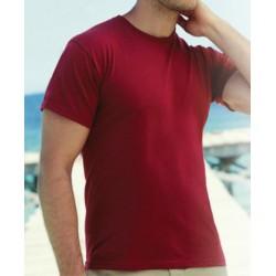 Tee-shirt col rond standard couleur 150 g