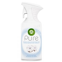 Lot de 6 aerosols 250 ml Airwik aerosol Pure douceur de coton