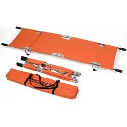 Brancard orange pliable en Longueur et en largeur