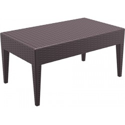 Table basse terrasse Miami L92 x P53 x H45 cm