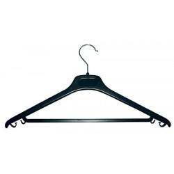 Cintre plastique noir à crochet