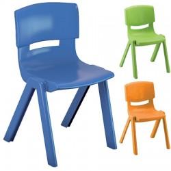 Chaise coque polypropylène empilables T4