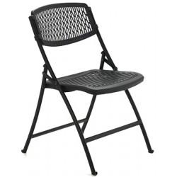 Chaise pliante et accrochable Marina M2 gris noir