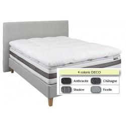 Tête de lit finition lisse déco L160xH115 cm