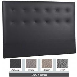 Tête de lit finition capitonnée tissu premium ou similicuir L160xH115 cm