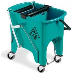 Seau de lavage Atria sur roulettes 15 L