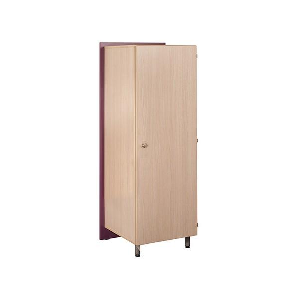 Armoire 1 Porte 1 2 Penderie Futur 68x60x185 Cm