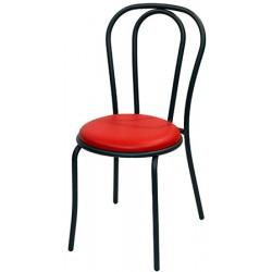 Chaise Bistro assise PVC bicolore M4