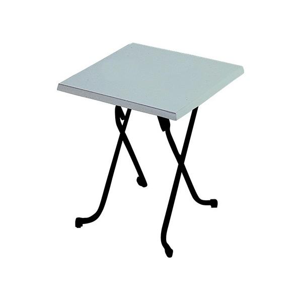 Cm Moulé Table Pliante Blanc Stratifié 60x60 Lorraine mNvOy8nw0