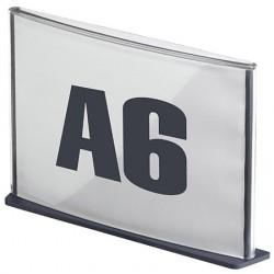 5 Plaques de signalisation A6 anthracite