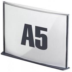 5 Plaques de signalisation A5 anthracite