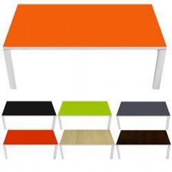 Table d'accueil Design personnalisée ou couleur 114x60 cm