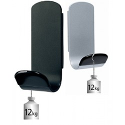 Patère simple magnétique Steely coloris standards