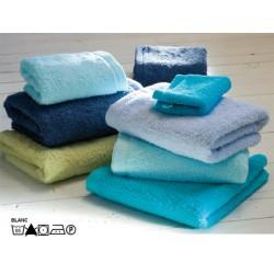 Tapis de bain 60x60 cm 100% coton peigné blanc ou couleur 1000g