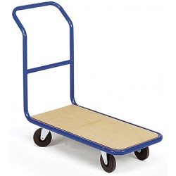 Chariot magasin dossier fixe plateau bois (charge 350 kg)