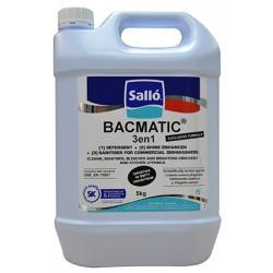 Détergent chloré et liquide de rinçage Bacmatic® 3 en 1 pour lave-vaisselles pro 5 kg