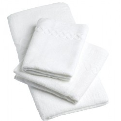 Lot de 36 draps de bain fil retors 420g