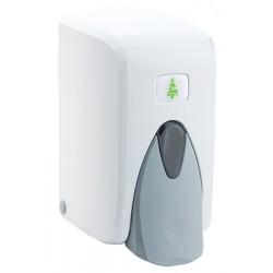 Distributeur de savon liquide ABS blanc 0,5 L