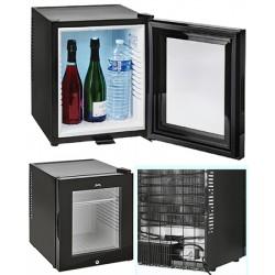 Minibar 40 L porte vitrée écologique et silencieux Cl B