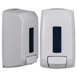 Distributeur de savon ABS blanc Plus 1,1 L