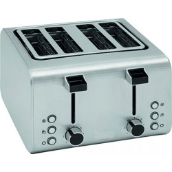 Toaster inox Pro 4 emplacements